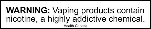 Health Canada Warning